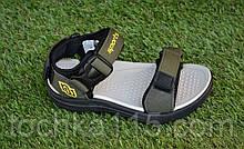 Сандали сандалии босоножки на мальчика хаки р28-33, копия