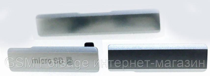 Заглушка для корпуса (набор) Sony Xperia Z1 C6902 White