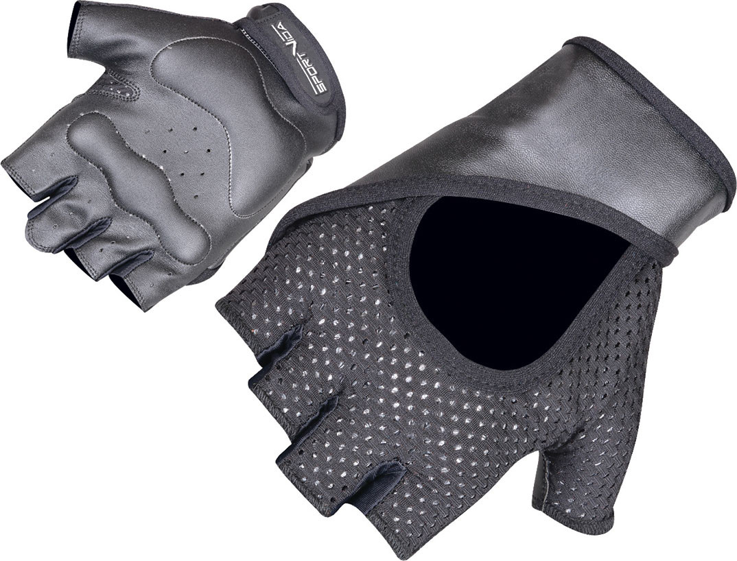 Перчатки для фитнеса SportVida SV-AG00015 (XXL) Black