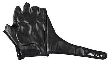 Перчатки для фитнеса SportVida SV-AG00015 (XXL) Black, фото 3