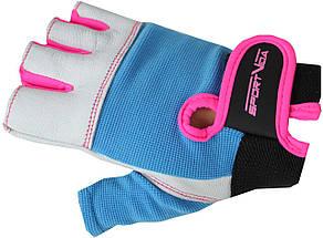Перчатки для фитнеса SportVida SV-AG00039 (M) White, фото 3
