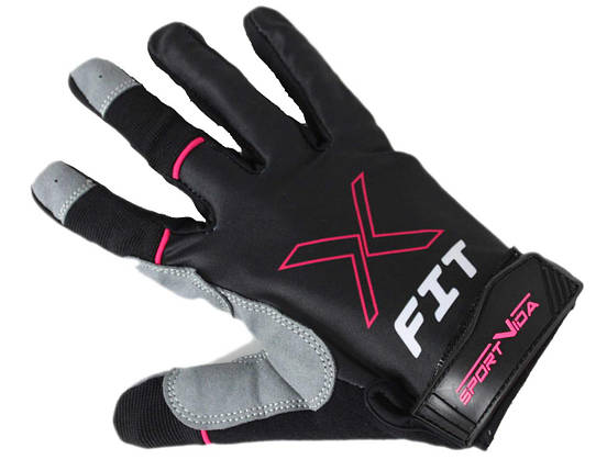 Перчатки для Crossfit SportVida SV-AG00045 (XL) Gray, фото 2