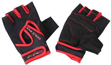 Перчатки для фитнеса SportVida SV-AG0007 (L) Black, фото 3