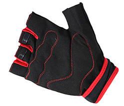 Перчатки для фитнеса SportVida SV-AG0009 (XXL) Black, фото 3