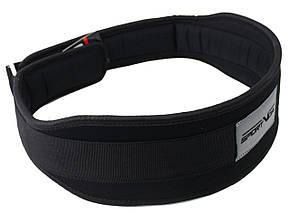 Пояс для тяжелой атлетики неопреновый SportVida SV-AG0101 (XXL) Black, фото 2