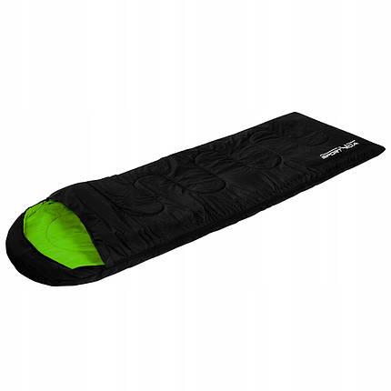 Спальный мешок SportVida SV-CC0003 Black/Green, фото 2