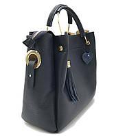 Женская кожаная сумка Italian fabric bags 1248