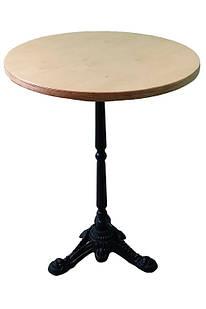 Стол Монпелье с круглой столешницей