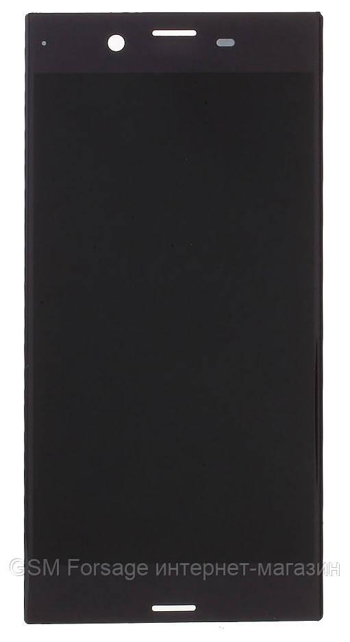 Дисплей Sony Xperia XZ Dual Sim F8332 complete Black