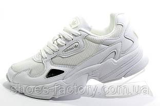Белые женские кроссовки в стиле Adidas Falcon W, White