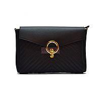 Женская кожаная сумочка-клатч Italian fabric bags 2115