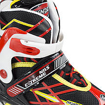 Роликовые коньки Nils Extreme NA1160A Size 35-38 Black/Red, фото 2