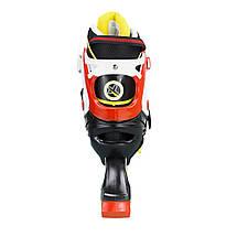 Роликовые коньки Nils Extreme NA1160A Size 35-38 Black/Red, фото 3