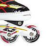 Роликовые коньки Nils Extreme NA1160A Size 35-38 Black/Red, фото 4