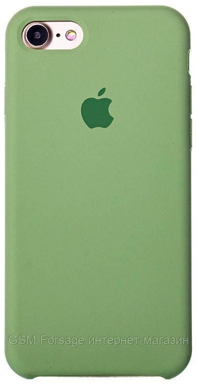 Чехол (Silicone Case) для iPhone 7 / iPhone 8 Light Green
