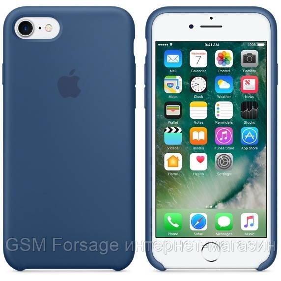Чехол (Silicone Case) для iPhone 6 plus / iPhone 6S Plus Ocean Blue