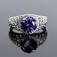 Серебряное кольцо с Александритом, 2316КЦА, фото 2