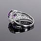 Серебряное кольцо с Александритом, 2316КЦА, фото 4