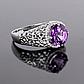 Серебряное кольцо с Александритом, 2316КЦА, фото 3
