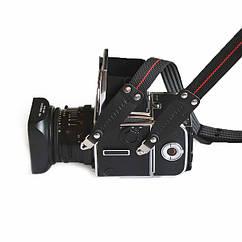 Нейлоновый противоскользящий прорезиненный ремешок для фотокамеры Hasselblad.