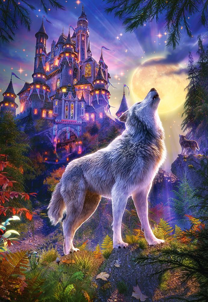 Пазлы Волчий замок на 1000 элементов