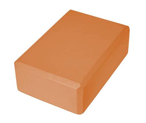 Блок для йоги Sport Shiny SV-HK0154 Orange, фото 2