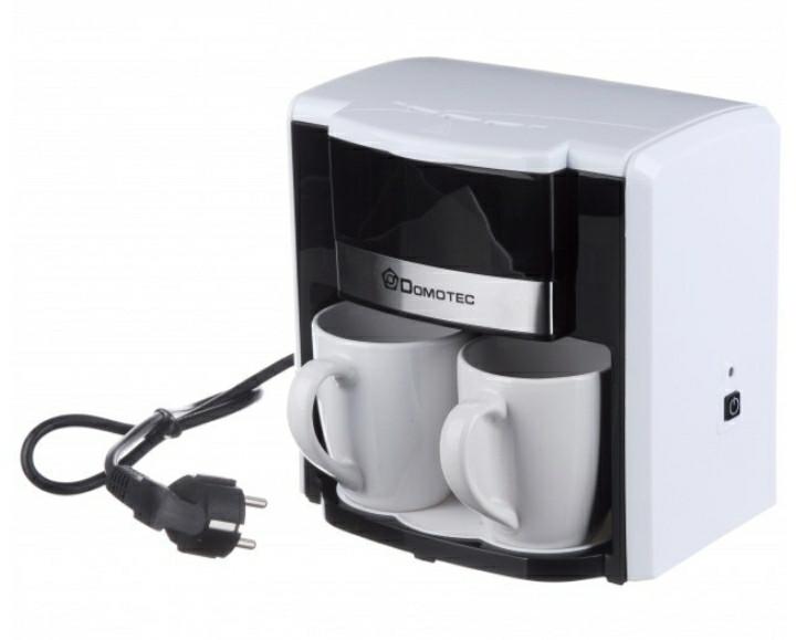 Кофеварка + чашки Domotec MS 0706