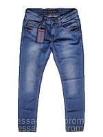 Легко зауженние джинсы  FB 14-362 Blue 5408