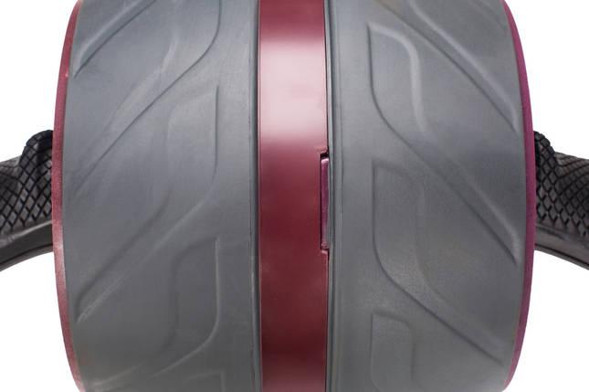 Ролик для пресса с возвратным механизмом 4FIZJO AB Wheel 4FJ0019 Red, фото 2