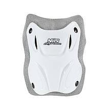Комплект защитный Nils Extreme H407 Size M White/Grey, фото 2