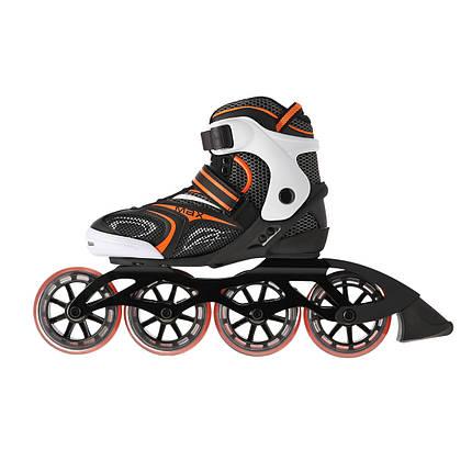 Роликовые коньки Nils Extreme NA1060S Size 40 Black/Orange, фото 2