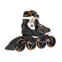 Роликовые коньки Nils Extreme NA1060S Size 40 Black/Orange, фото 3
