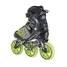 Роликовые коньки Nils Extreme NA1206 Size 41 Black/Green, фото 3