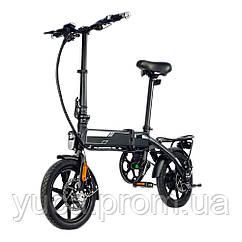 """Электровелосипед NAKXUS 14F004, чёрный, колеса 14"""", складной, моторколесо 250W, аккумулятор 36V 6Ah (216Wh)"""