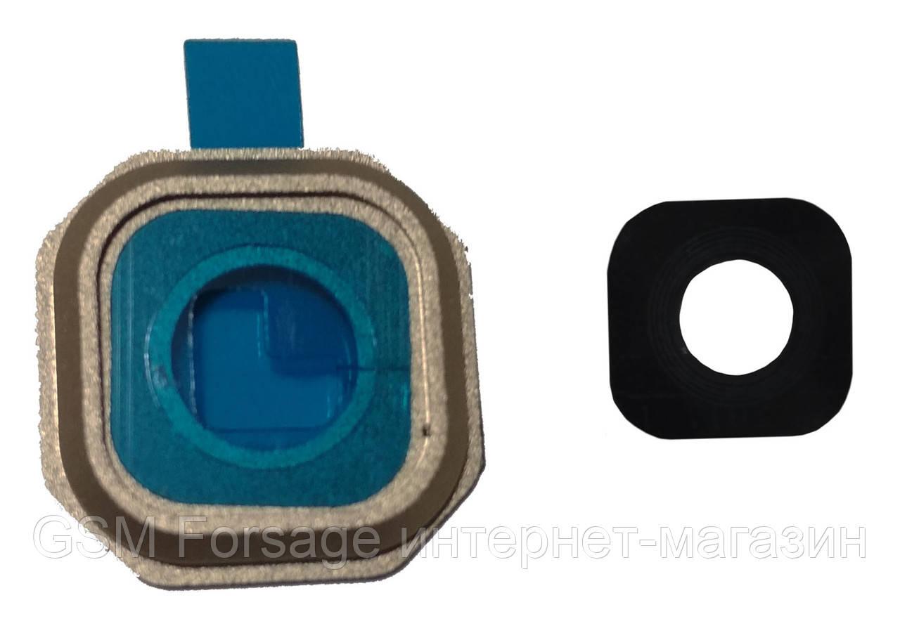 Стекло камеры Samsung A500 Galaxy A5 Gold