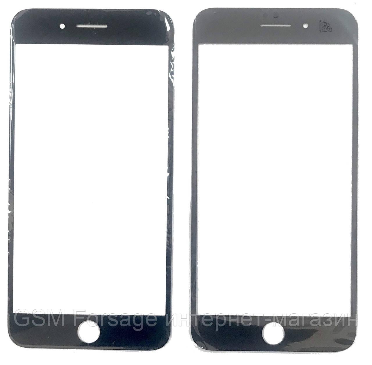 """Стекло дисплея IPhone 8 Plus (5.5"""") Black (для переклейки) Original"""