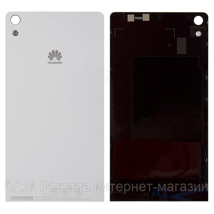 Задняя часть корпуса Huawei Ascend P6 White