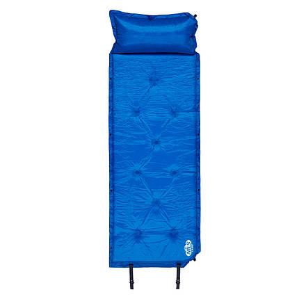 Самонадувающийся коврик Nils Camp NC4348 188 x 67.5 x 3 см Blue, фото 2