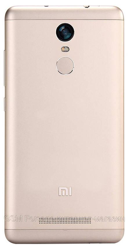 Задняя часть корпуса Xiaomi Redmi Note 3 / Note 3 Pro Gold