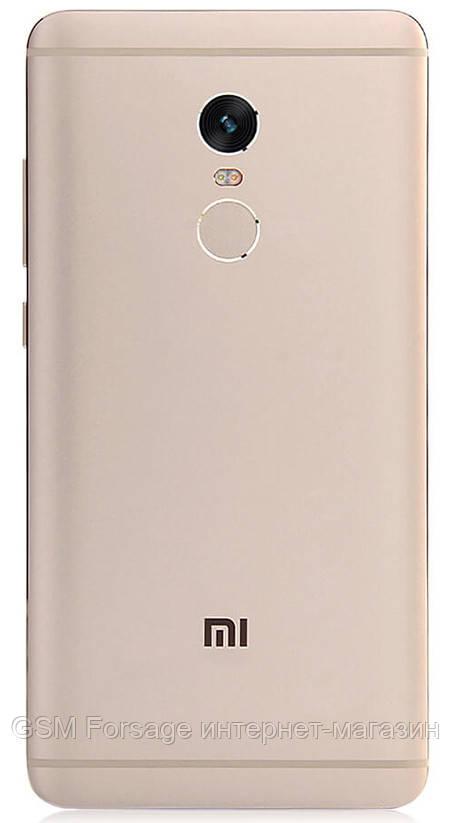 Задняя часть корпуса Xiaomi Redmi Note 4 Gold
