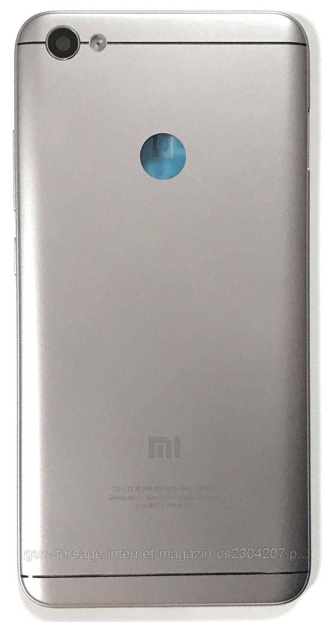 Задняя часть корпуса Xiaomi Redmi Note 5a PRIME Gray