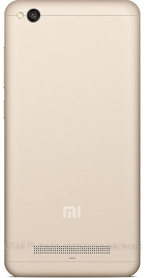 Задняя часть корпуса Xiaomi Redmi 4A Gold