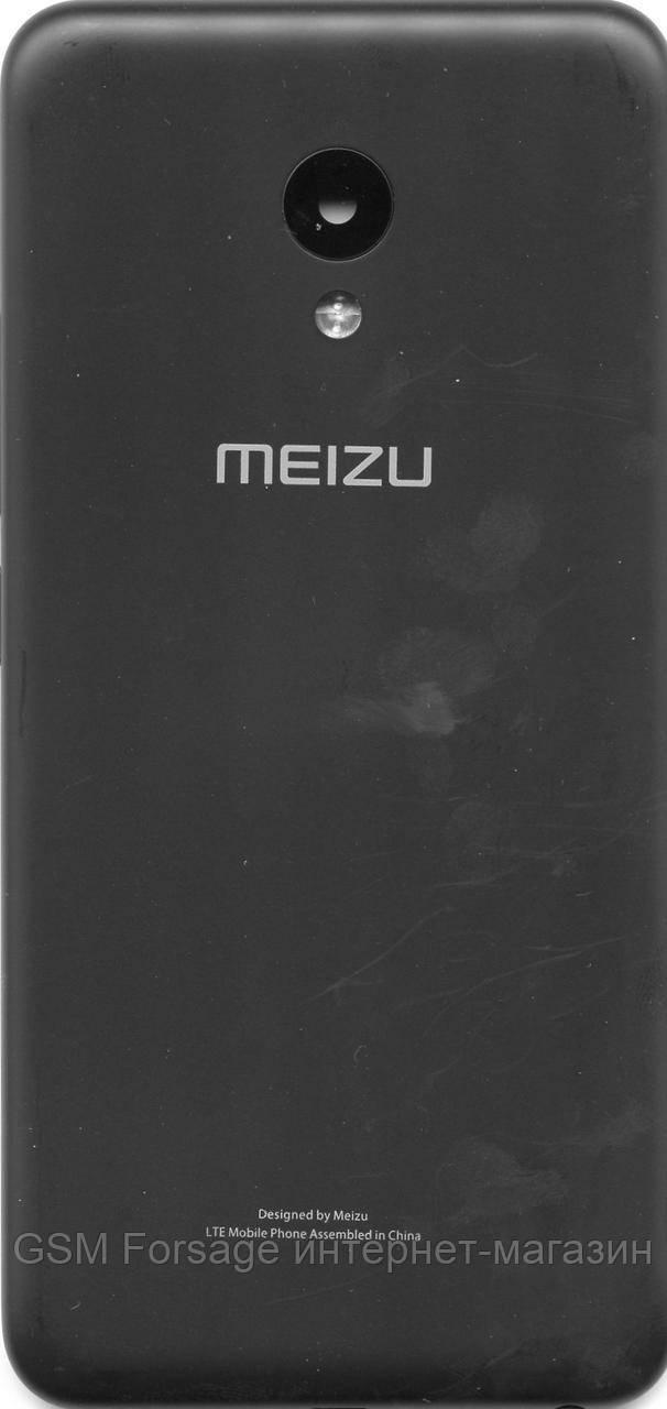 Задняя часть корпуса Meizu M5 Black