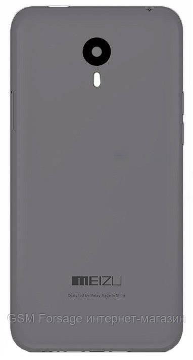 Задняя часть корпуса Meizu M1 Note Gray