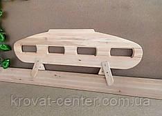"""Деревянный защитный барьер для кровати """"Лунтик"""" (цвет на выбор) 110 см."""
