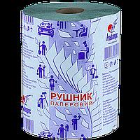 Полотенце рулонное с тиснением и перфорацией на гильзе Ø45мм (6шт/уп)