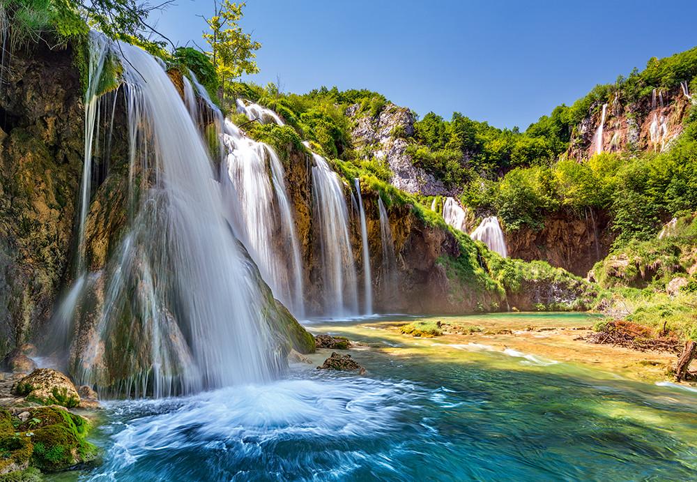 Пазлы Водопад на 1000 элементов