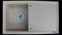Гранітна мийка для кухні 860*500*200 мм