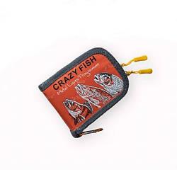 Кошелек для блесен Crazy Fish Spoon Case 13*10*3см Orange