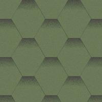 Битумная черепица «АКВАИЗОЛ» Мозаика Альпийский луг(зелёный + чёрная тень)